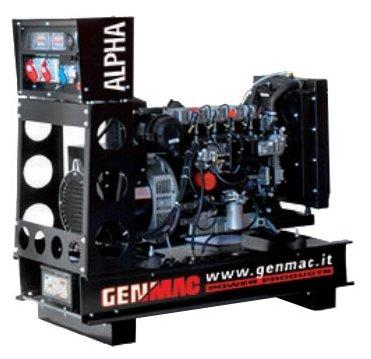 дизельная электростанция genmac alpha g30yo-e