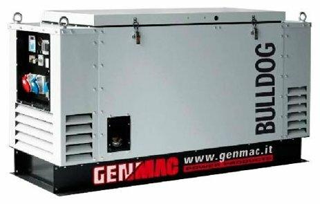 дизельная электростанция genmac bulldog rg15lsm