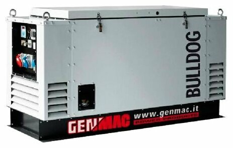 дизельная электростанция genmac bulldog rgu20l-e