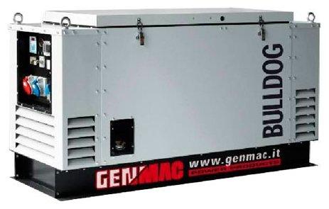 дизельная электростанция genmac bulldog rgu25l-e