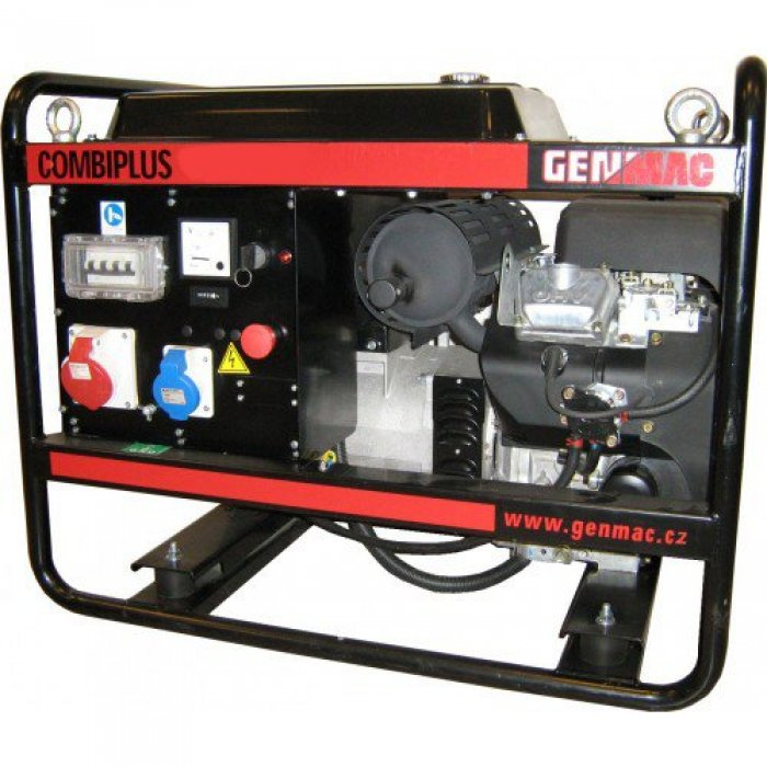 дизельная электростанция genmac combiplus g6500yeo
