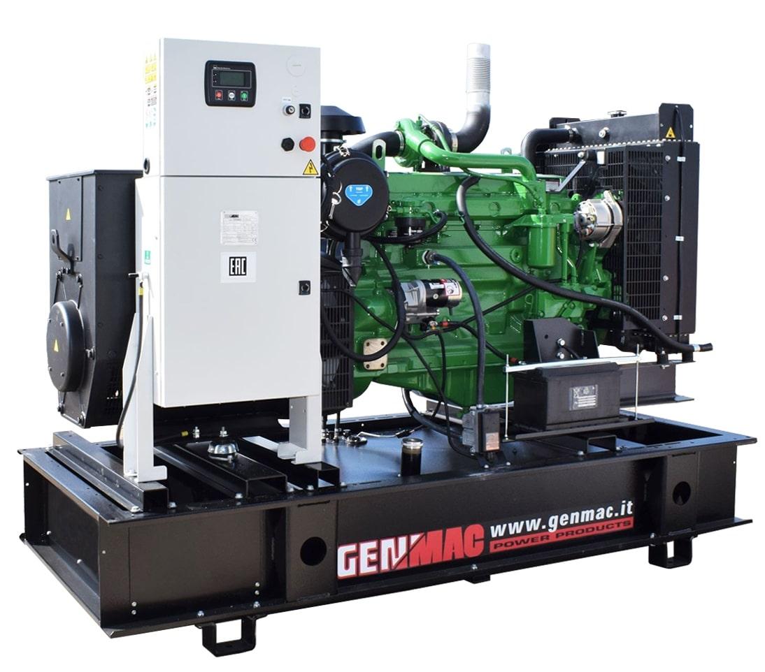 дизельная электростанция genmac g150jo