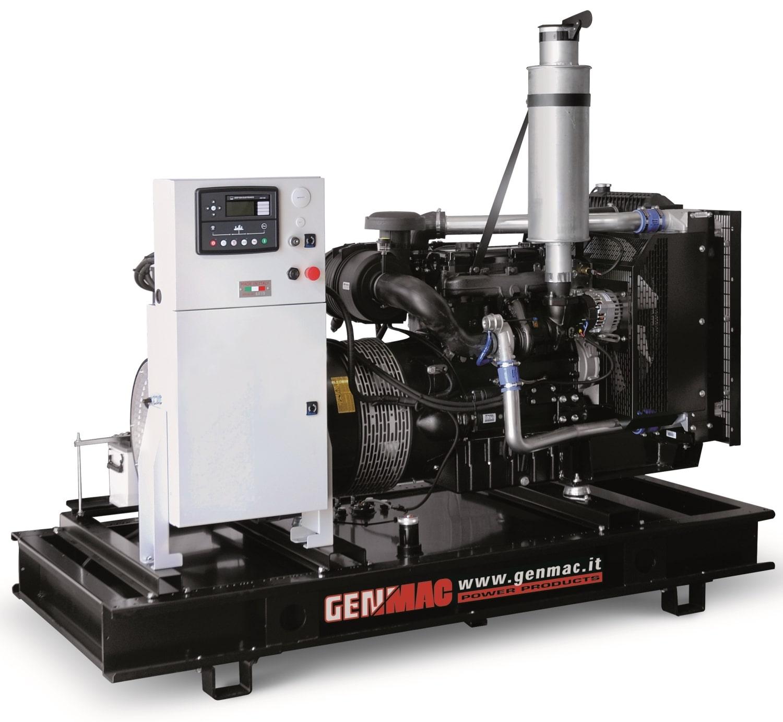 дизельная электростанция genmac g250po