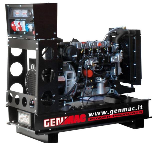 дизельная электростанция genmac g40jo
