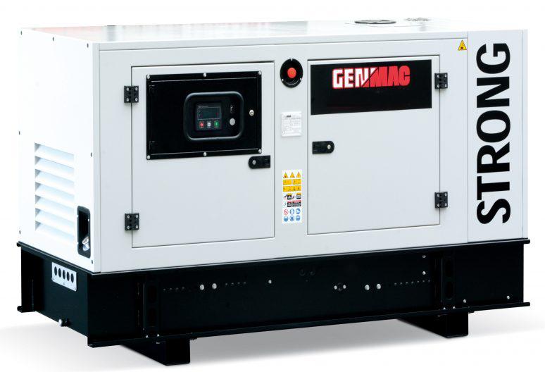 дизельная электростанция genmac g40js