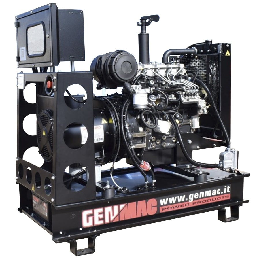 дизельная электростанция genmac rg15po