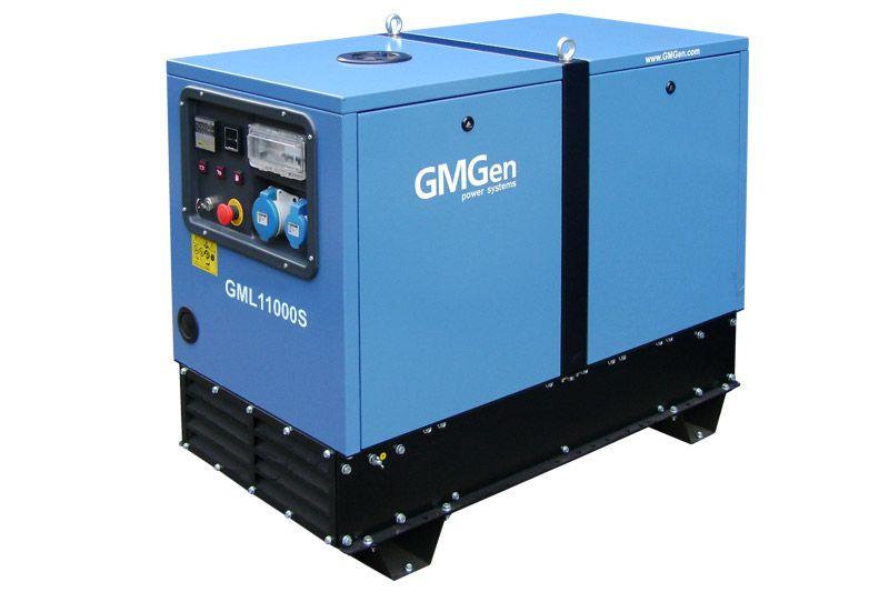 дизельная электростанция gmgen gml11000s