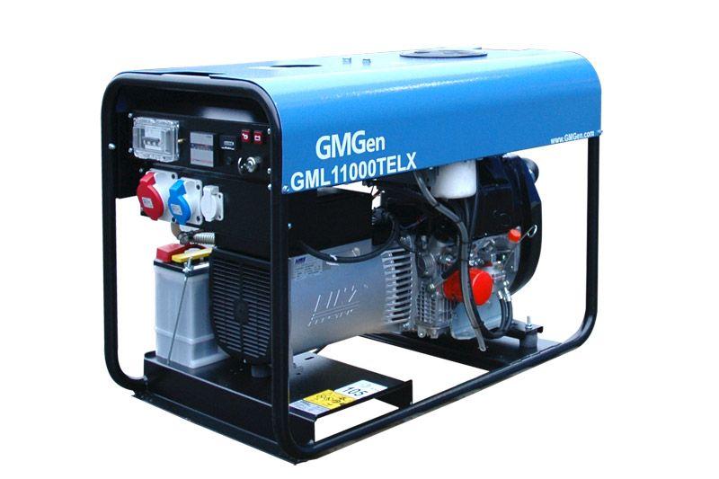 дизельная электростанция gmgen gml11000telx