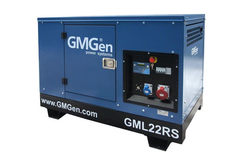 дизельная электростанция gmgen gml22rs