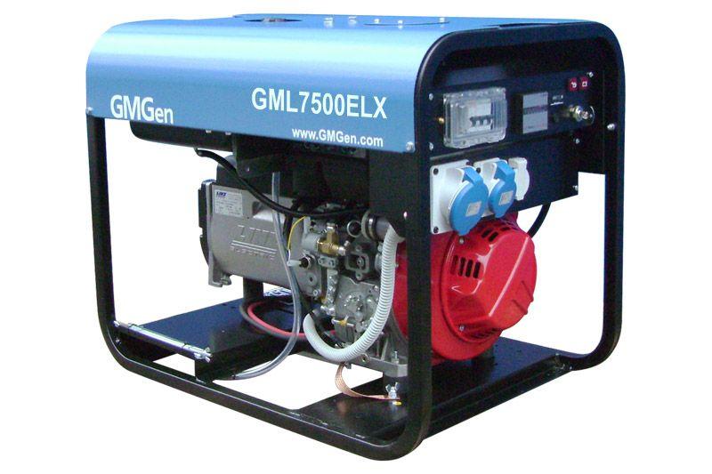 дизельная электростанция gmgen gml7500elx