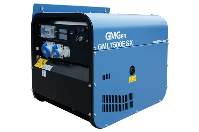 дизельная электростанция gmgen gml7500esx