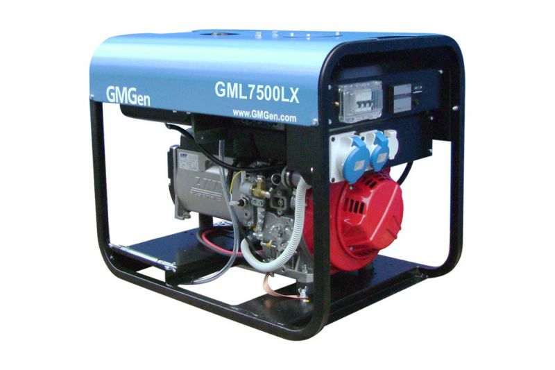 дизельная электростанция gmgen gml7500lx