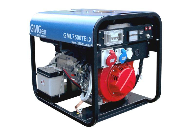 дизельная электростанция gmgen gml7500telx