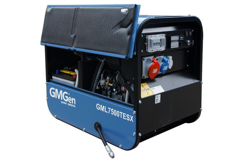 дизельная электростанция gmgen gml7500tesx