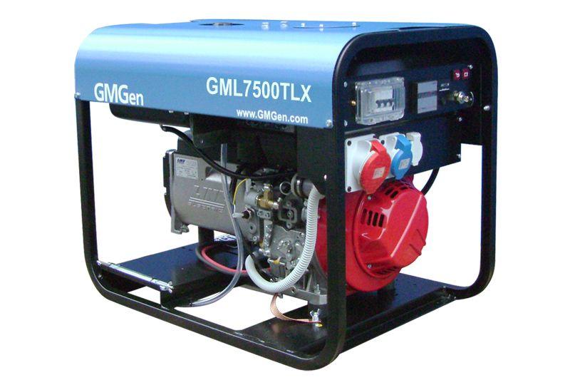 дизельная электростанция gmgen gml7500tlx