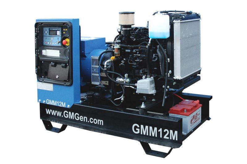 дизельная электростанция gmgen gmm12м