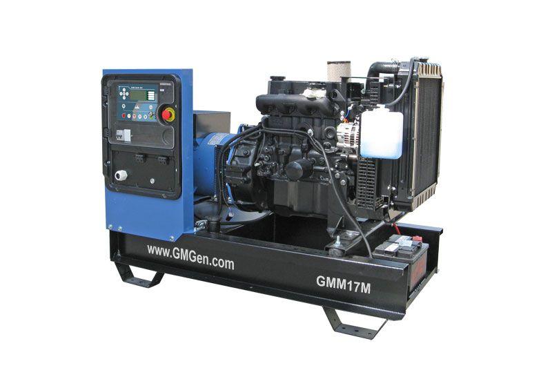 дизельная электростанция gmgen gmm17м