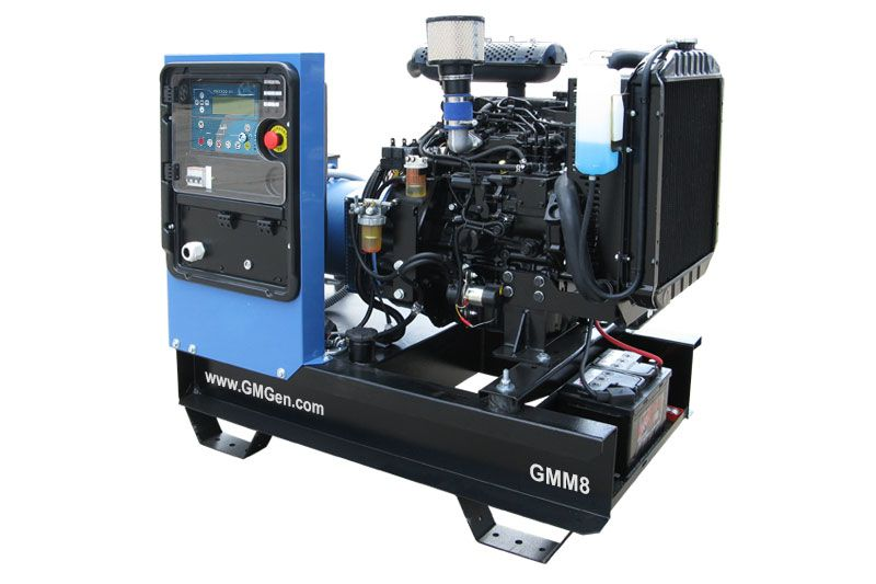 дизельная электростанция gmgen gmm8