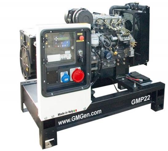 дизельная электростанция gmgen gmp22