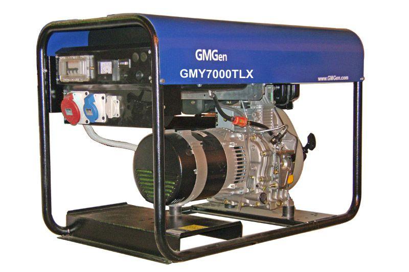дизельная электростанция gmgen gmy7000tlx