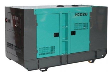 дизельная электростанция hiltt hd30ss3