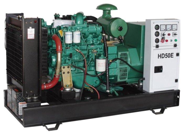 дизельная электростанция hiltt hd50e3