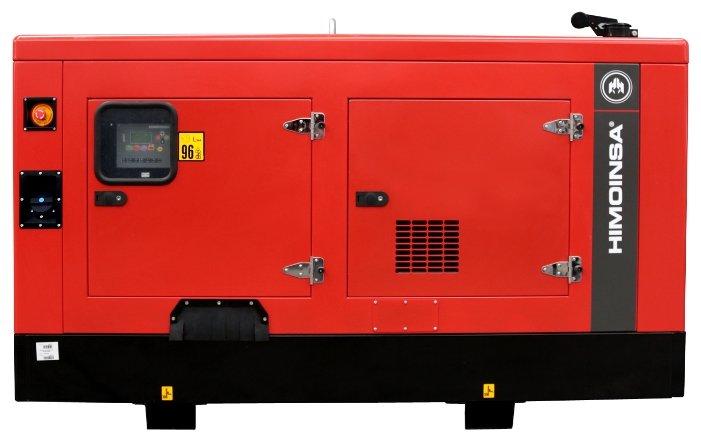 дизельная электростанция himoinsa hfw-50 t5 c10