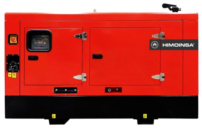 дизельная электростанция himoinsa hyw-17 t5 b10