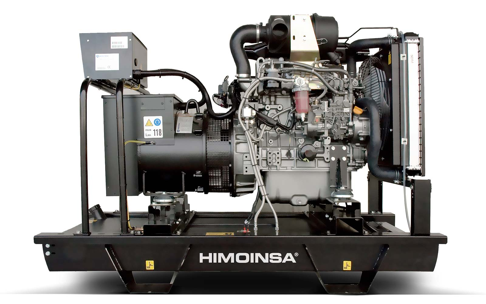 дизельная электростанция himoinsa hyw-8 t5