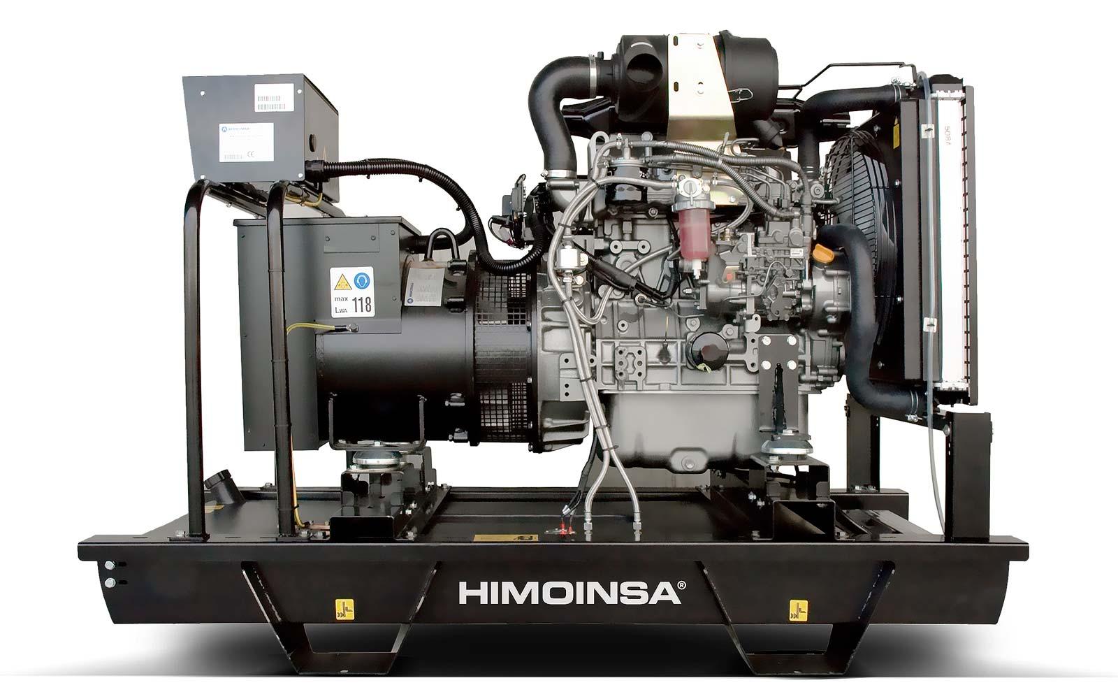 дизельная электростанция himoinsa hyw-9 m5