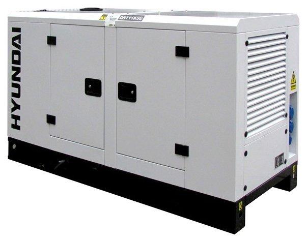 дизельная электростанция hyundai dhy-11 kse