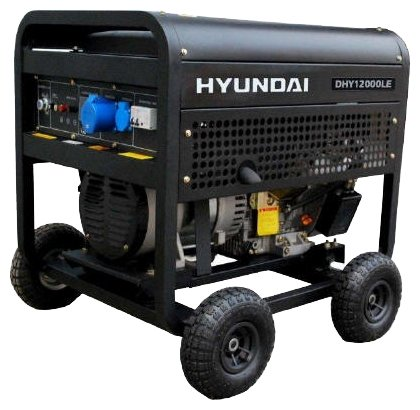 дизельная электростанция hyundai dhy-12000 le