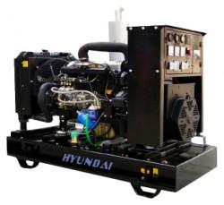 дизельная электростанция hyundai dhy125ke