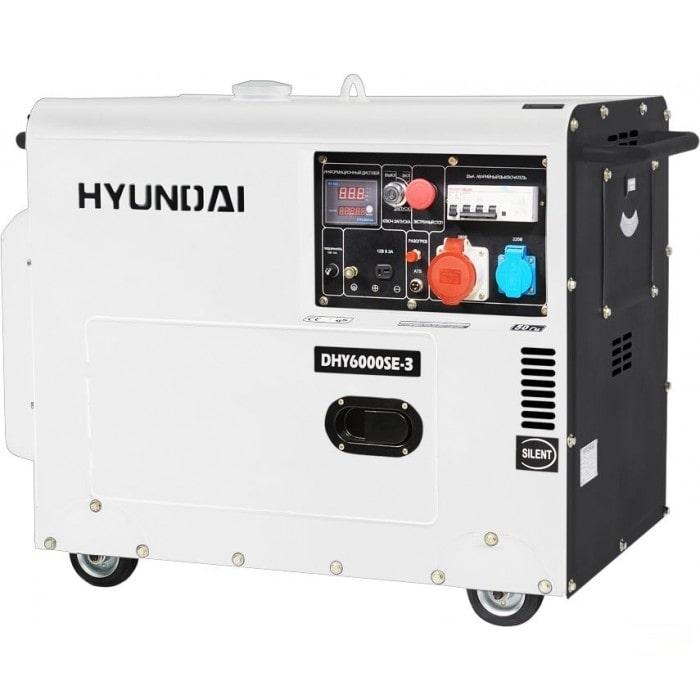 дизельная электростанция hyundai dhy 6000se-3