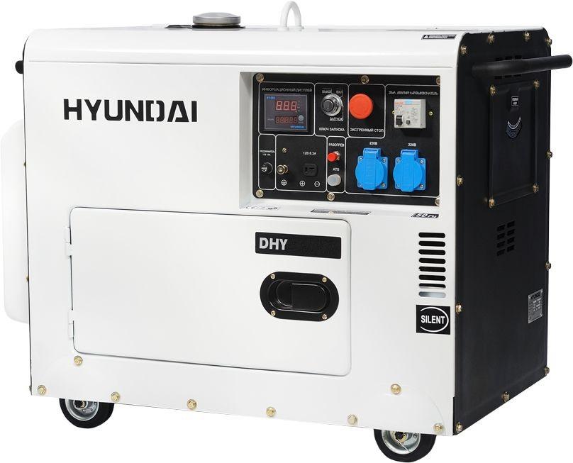 дизельная электростанция hyundai dhy 8000se