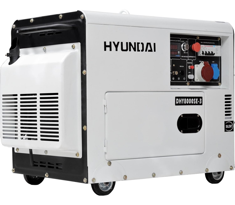 дизельная электростанция hyundai dhy 8000se-3