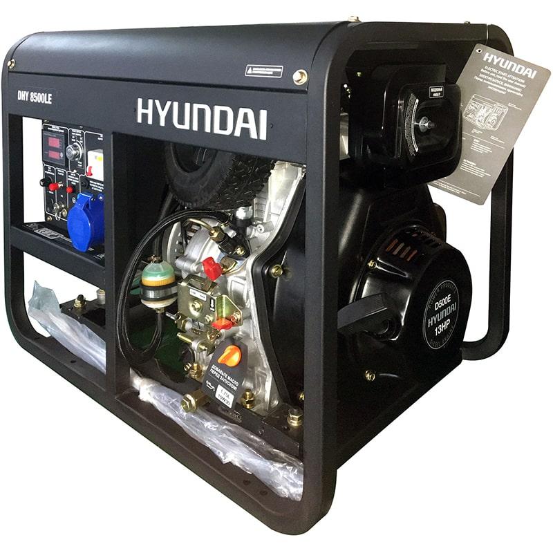 дизельная электростанция hyundai dhy 8500le