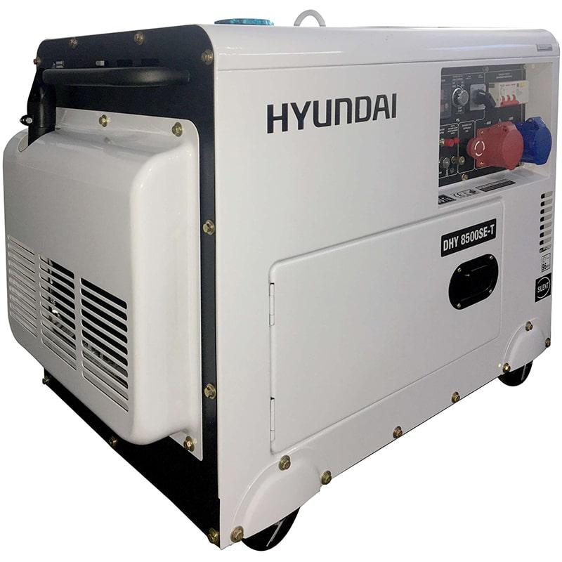 дизельная электростанция hyundai dhy 8500se-t