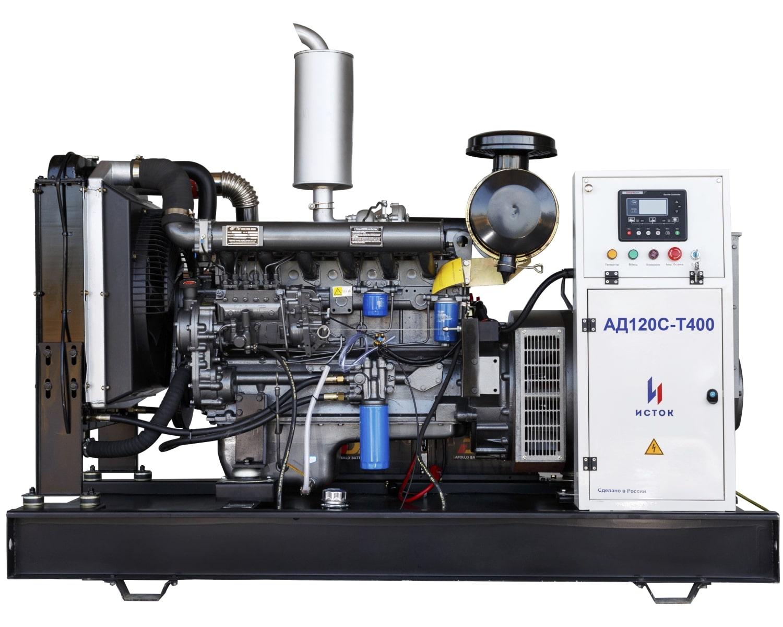 дизельная электростанция исток ад120с-т400-рм25