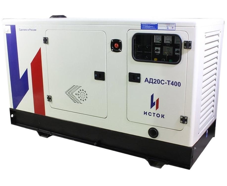 дизельная электростанция исток ад20с-т400-рпм15