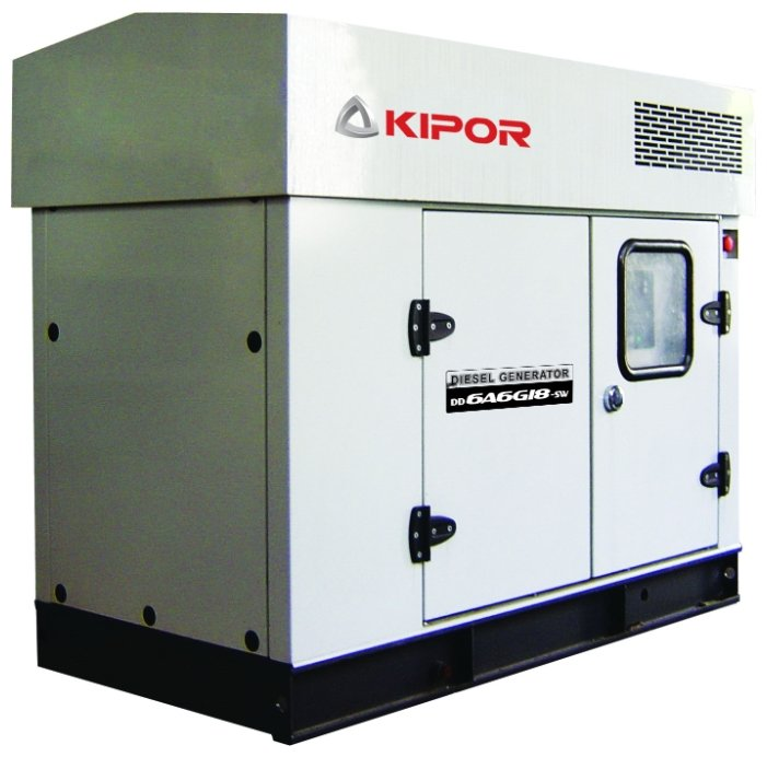 дизельная электростанция kipor d6dcg-sw