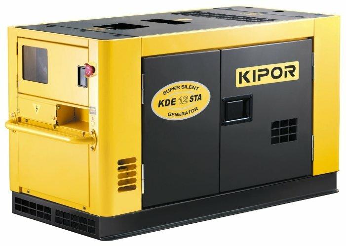 дизельная электростанция kipor kda12stao
