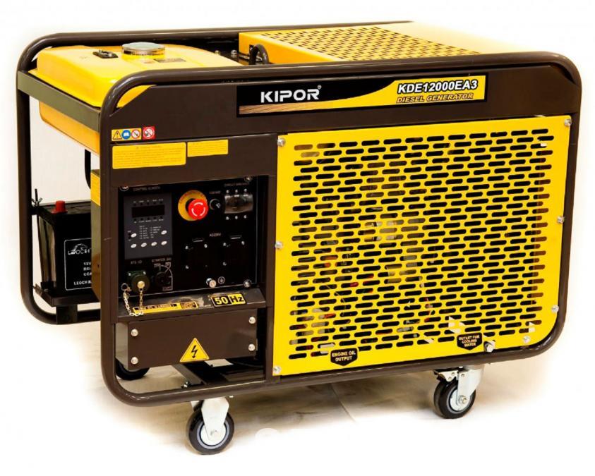 дизельная электростанция kipor kde12ea3