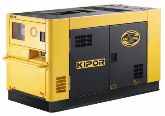 дизельная электростанция kipor kde12sta3