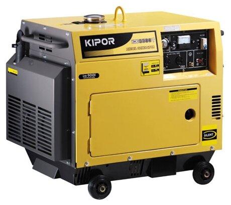 дизельная электростанция kipor kde3500t