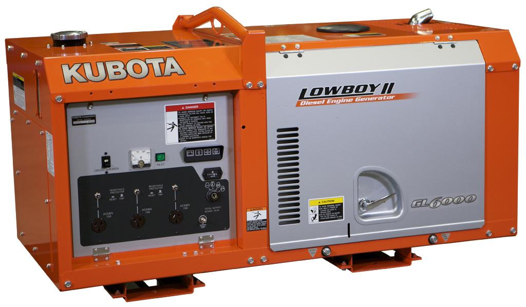 дизельная электростанция kubota gl 6000