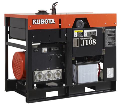 дизельная электростанция kubota j 108
