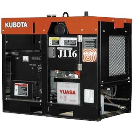 дизельная электростанция kubota j 116