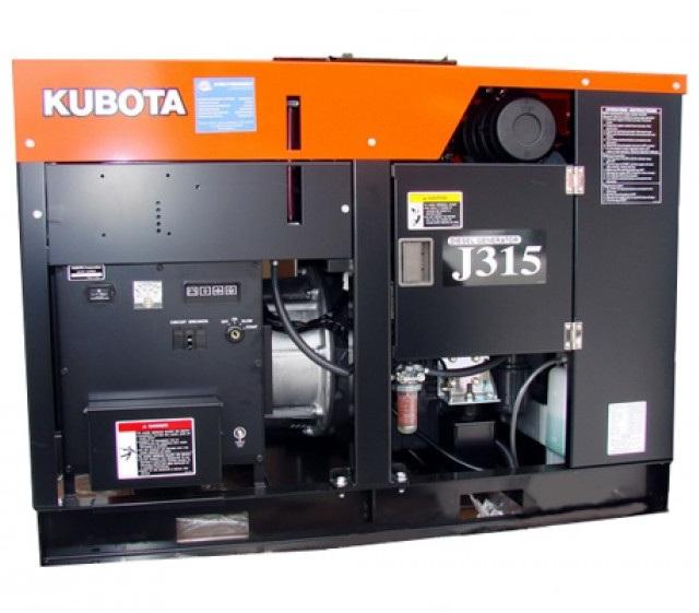дизельная электростанция kubota j 315