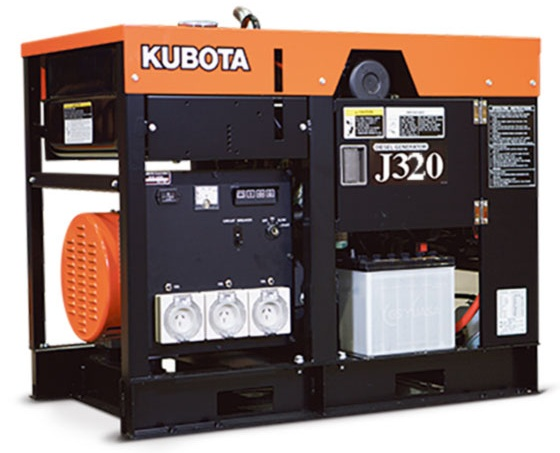 дизельная электростанция kubota j 320